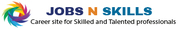 Create your own job and recruiter profiles effectively manage with jobsnskills. Find the jobs you love.