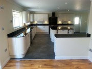 Contact us to know kitchen glass splashbacks easy to fit