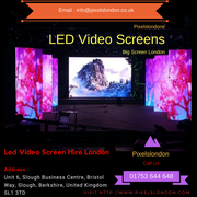 Get LED Video Screen Hire London for Events