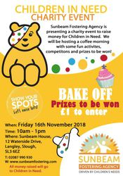 Children in Need Charity Event